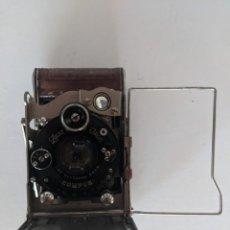 Cámara de fotos: PRINCIPIOS SIGLO XX RARA ZEISS IKON COMPUR FOLDING PLATE DRP 258646 MARRON. Lote 221907547