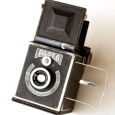 Cámara de fotos: *C1937* • RARA KAMERA-WERKSTÄTTEN ' PILOT 6 ' ANAST. F6.3 • FORMATO MEDIO 6X6 RÉFLEX DE PREGUERRA. Lote 221948866