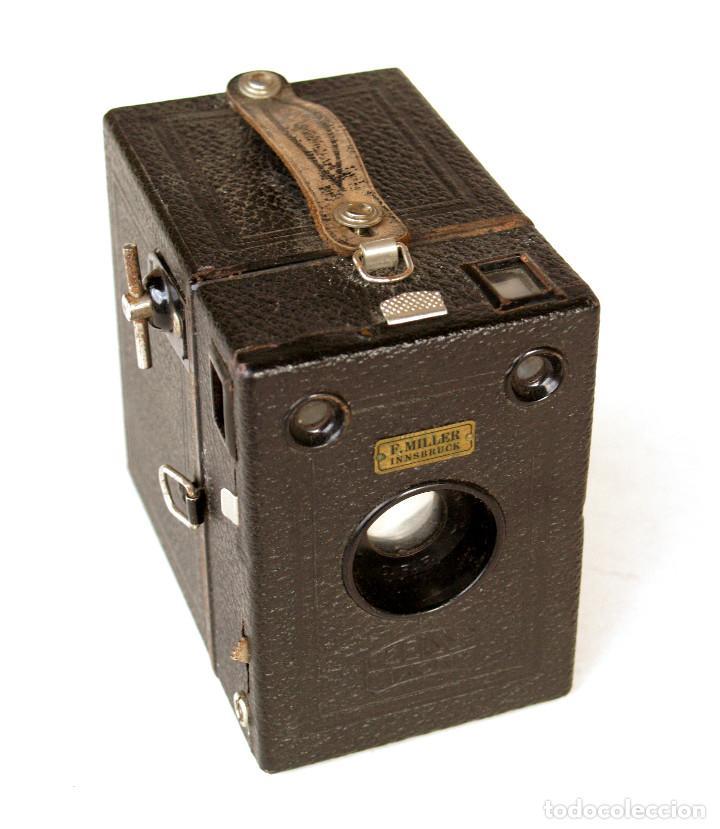 Cámara de fotos: *c1930* • Zeiss Ikon BOX TENGOR (primeras series 756 del modelo 54/2) Formato medio 6x9 metálica - Foto 5 - 221973316
