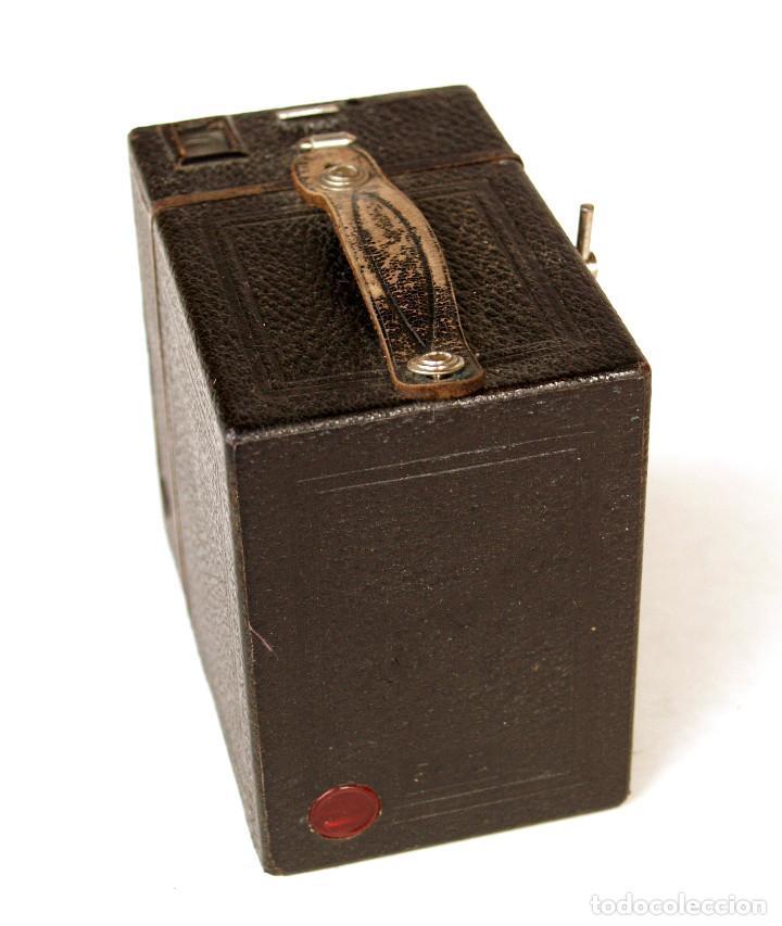 Cámara de fotos: *c1930* • Zeiss Ikon BOX TENGOR (primeras series 756 del modelo 54/2) Formato medio 6x9 metálica - Foto 2 - 221973316