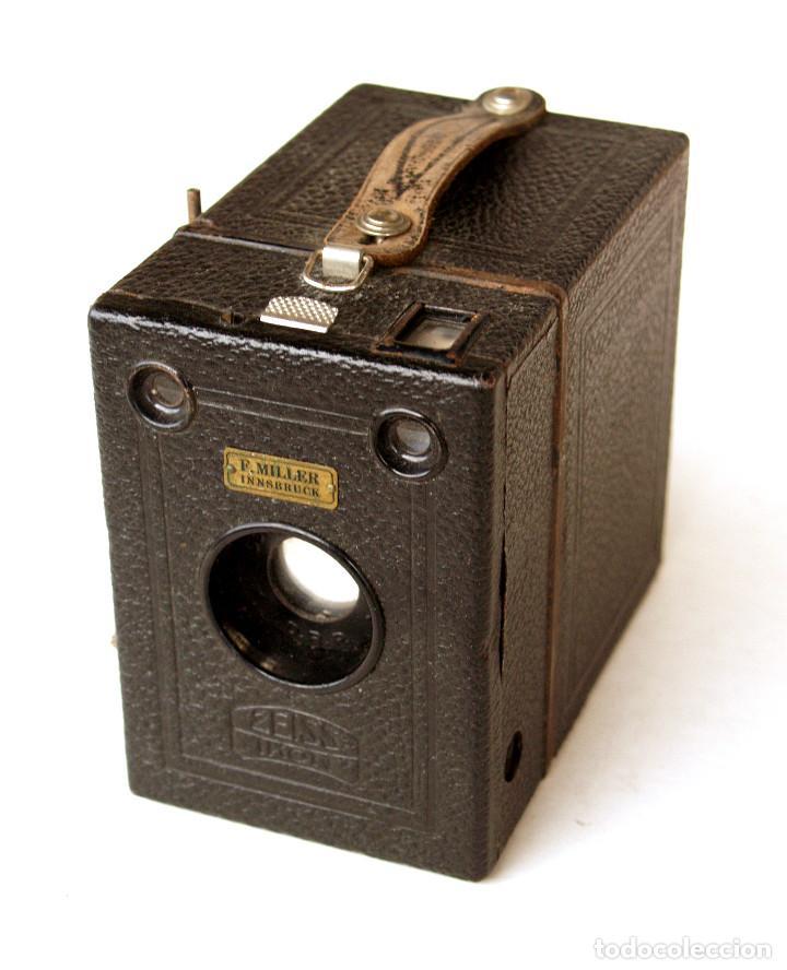Cámara de fotos: *c1930* • Zeiss Ikon BOX TENGOR (primeras series 756 del modelo 54/2) Formato medio 6x9 metálica - Foto 3 - 221973316