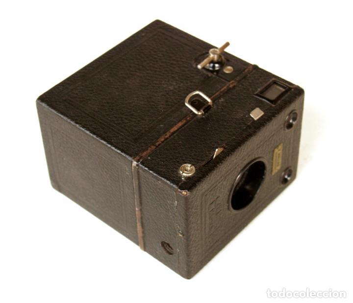Cámara de fotos: *c1930* • Zeiss Ikon BOX TENGOR (primeras series 756 del modelo 54/2) Formato medio 6x9 metálica - Foto 4 - 221973316