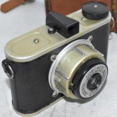 Cámara de fotos: ANTIGUA CAMARA INGLESA ...CORONET CUB CON FUNDA..1946, BUEN ESTADO.....FUNCIONA... Lote 222937585