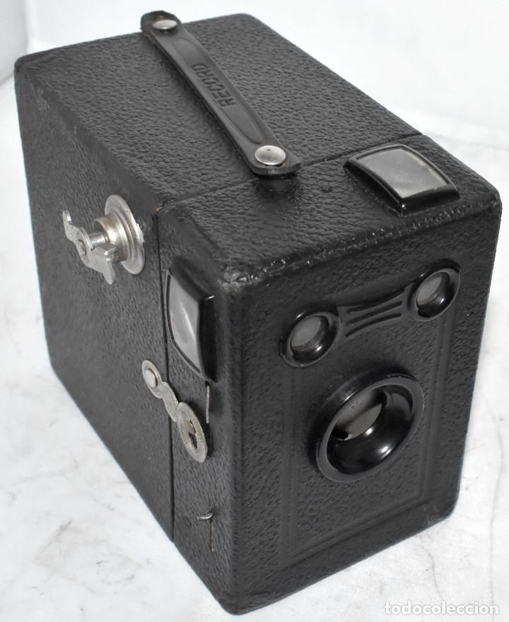 Cámara de fotos: ÚNICA..CAMARA ANTIGUA DE CAJON,.BALDA RECORD..ALEMANIA 1933..FUNCIONA..BUEN ESTADO..EXCLUSIVA - Foto 24 - 223473905