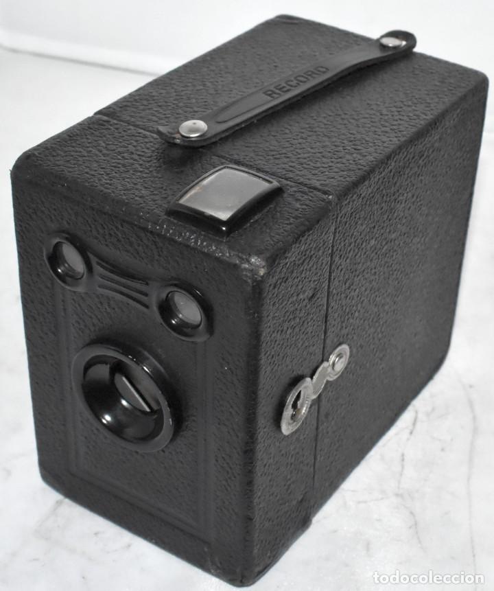 Cámara de fotos: ÚNICA..CAMARA ANTIGUA DE CAJON,.BALDA RECORD..ALEMANIA 1933..FUNCIONA..BUEN ESTADO..EXCLUSIVA - Foto 4 - 223473905