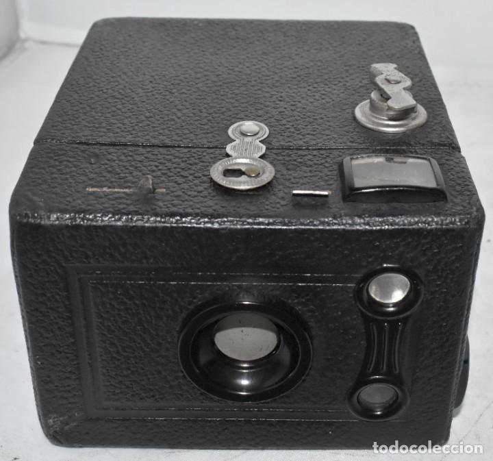 Cámara de fotos: ÚNICA..CAMARA ANTIGUA DE CAJON,.BALDA RECORD..ALEMANIA 1933..FUNCIONA..BUEN ESTADO..EXCLUSIVA - Foto 5 - 223473905