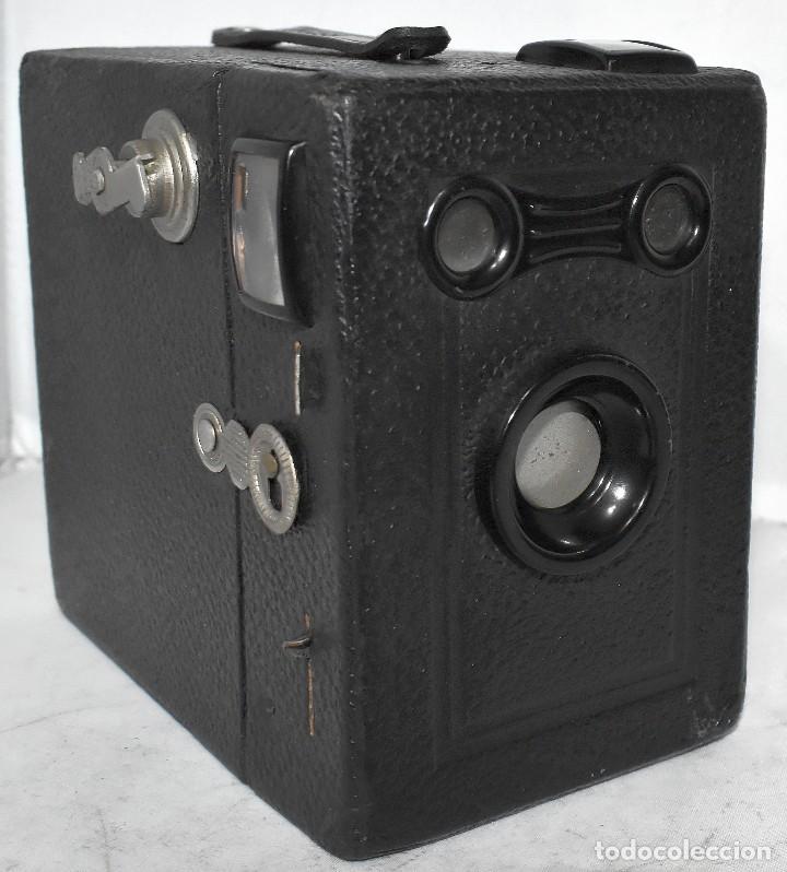 Cámara de fotos: ÚNICA..CAMARA ANTIGUA DE CAJON,.BALDA RECORD..ALEMANIA 1933..FUNCIONA..BUEN ESTADO..EXCLUSIVA - Foto 2 - 223473905