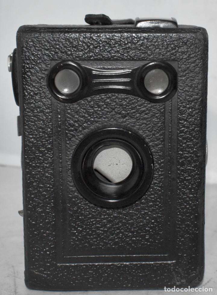 Cámara de fotos: ÚNICA..CAMARA ANTIGUA DE CAJON,.BALDA RECORD..ALEMANIA 1933..FUNCIONA..BUEN ESTADO..EXCLUSIVA - Foto 6 - 223473905