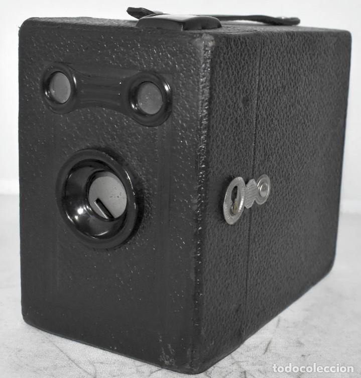 Cámara de fotos: ÚNICA..CAMARA ANTIGUA DE CAJON,.BALDA RECORD..ALEMANIA 1933..FUNCIONA..BUEN ESTADO..EXCLUSIVA - Foto 7 - 223473905