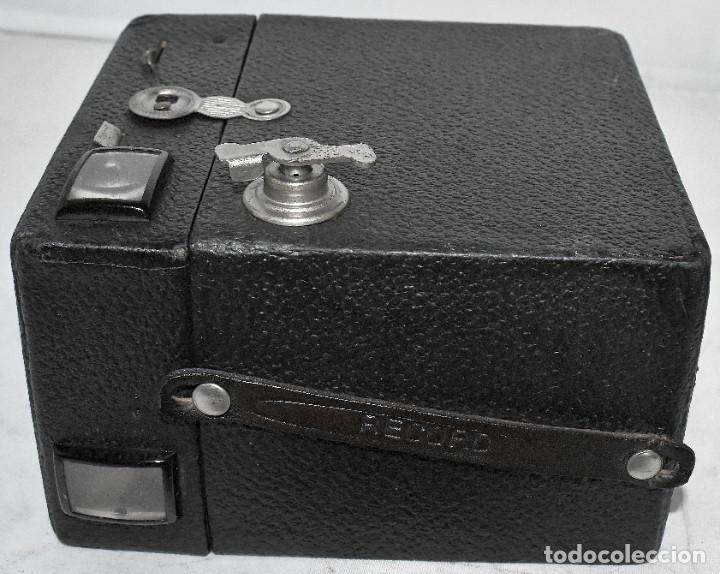 Cámara de fotos: ÚNICA..CAMARA ANTIGUA DE CAJON,.BALDA RECORD..ALEMANIA 1933..FUNCIONA..BUEN ESTADO..EXCLUSIVA - Foto 18 - 223473905