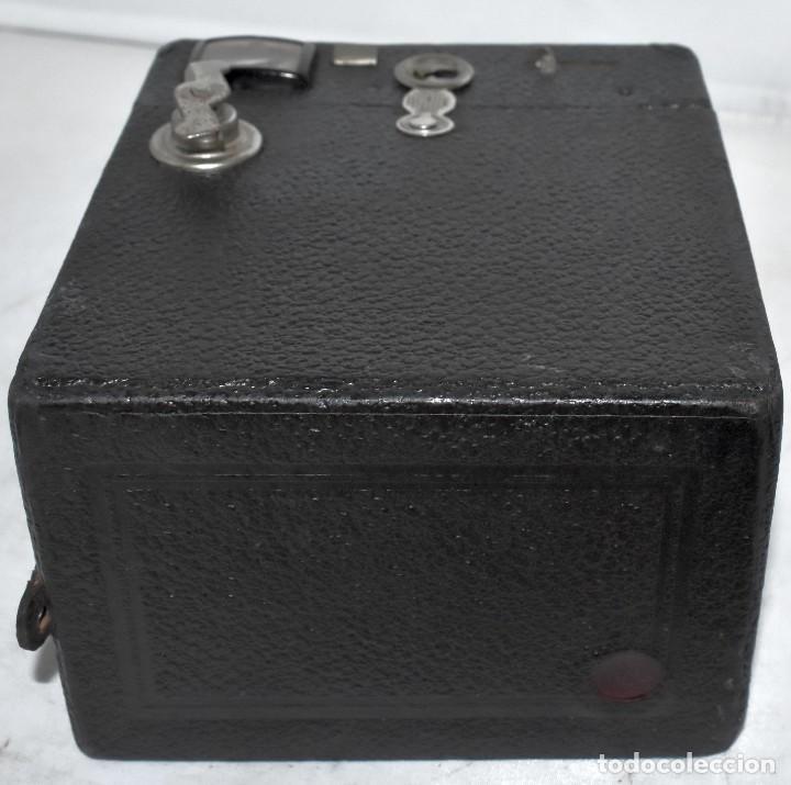 Cámara de fotos: ÚNICA..CAMARA ANTIGUA DE CAJON,.BALDA RECORD..ALEMANIA 1933..FUNCIONA..BUEN ESTADO..EXCLUSIVA - Foto 19 - 223473905