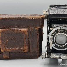 Cámara de fotos: CAMARA FOTOGRAFICA. WELTA. MODELO WELTUR. FUNDA ORIGINAL. ALEMANIA. CIRCA 1930.. Lote 223575671