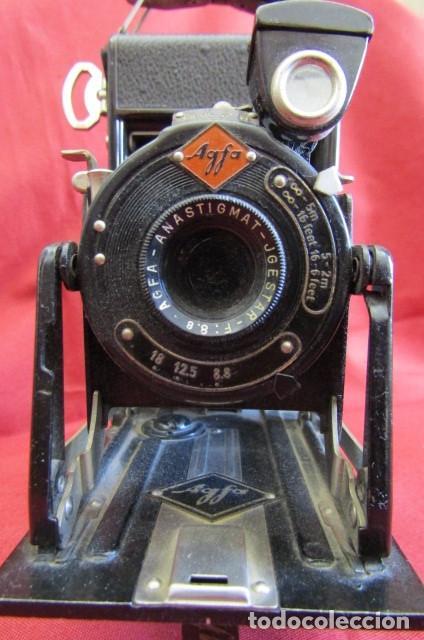 Cámara de fotos: Antigua cámara de fotos alemana de fuelle plegable Agfa modelo Billy Igetar año 1928 1930 y funciona - Foto 4 - 224208283