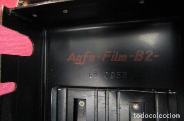 Cámara de fotos: Antigua cámara de fotos alemana de fuelle plegable Agfa modelo Billy Igetar año 1928 1930 y funciona - Foto 6 - 224208283