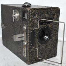Cámara de fotos: EXCELENTE Y RARA..EN MADERA, MOTEADA..BUTCHER´S CARBINE Nº 2.ENGLAND 1923..MUY BUEN ESTADO..FUNCIONA. Lote 224356671