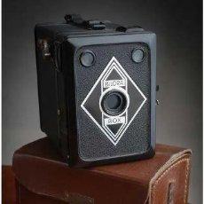 Cámara de fotos: ANTIGUA CÁMARA DE FOTO BILORA BOX 1945. Lote 224390500