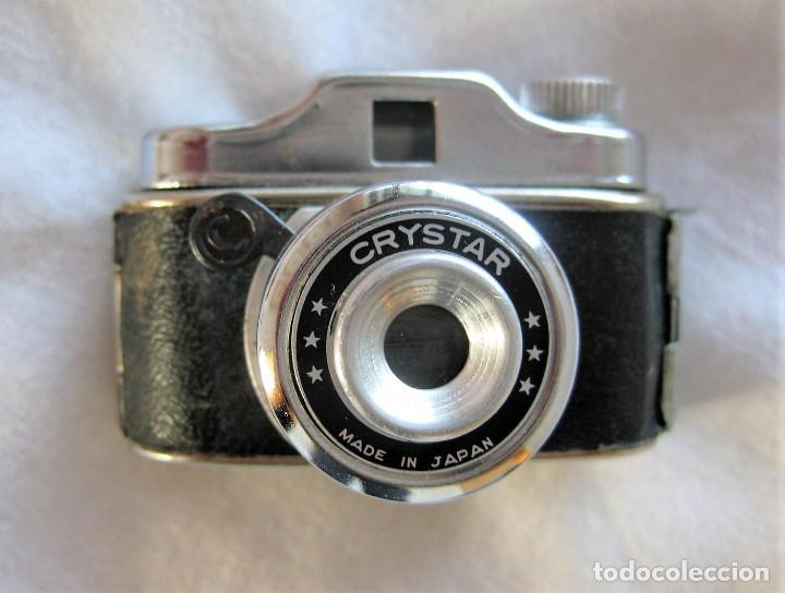 Cámara de fotos: MINI CÁMARA ESPÍA CRYSTAR MADE IN JAPON EN PERFECTO ESTADO, PARA DECORACIÓN - Foto 2 - 226842790