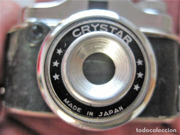 Cámara de fotos: MINI CÁMARA ESPÍA CRYSTAR MADE IN JAPON EN PERFECTO ESTADO, PARA DECORACIÓN - Foto 3 - 226842790