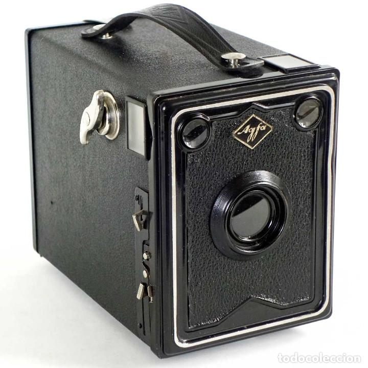 Cámara de fotos: CÁMARA AGFA ISO-BOX 6X9. ALEMANIA 1933. FUNCIONA - Foto 2 - 229529400