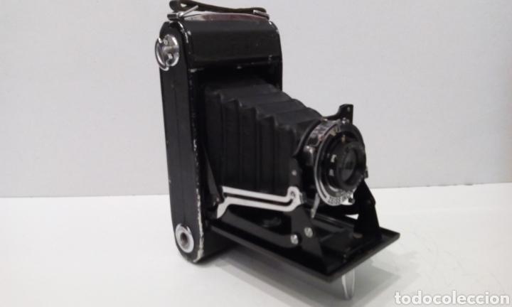Cámara de fotos: DOS CÁMARAS DE FUELLE ZEISS IKON TELMA. UNA NETTAR 515/2 DE 1933 Y UNA IKONTA 520/2 DE 1929. - Foto 5 - 231713870