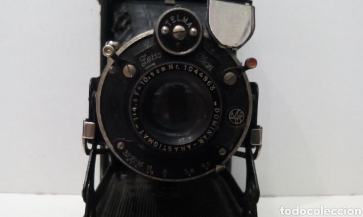 Cámara de fotos: DOS CÁMARAS DE FUELLE ZEISS IKON TELMA. UNA NETTAR 515/2 DE 1933 Y UNA IKONTA 520/2 DE 1929. - Foto 23 - 231713870