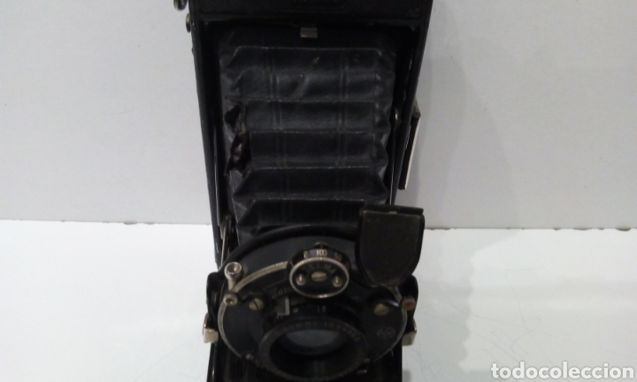 Cámara de fotos: DOS CÁMARAS DE FUELLE ZEISS IKON TELMA. UNA NETTAR 515/2 DE 1933 Y UNA IKONTA 520/2 DE 1929. - Foto 25 - 231713870