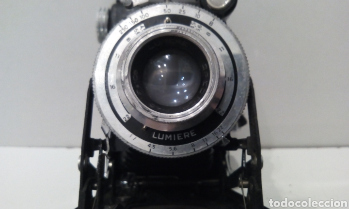 Cámara de fotos: DOS CÁMARAS DE FUELLE LUMIERE. LUMIERE Y LUMIREX III. CÁMARAS FRANCESAS. - Foto 24 - 231719630