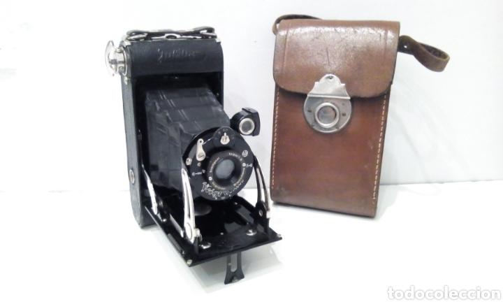 CÁMARA DE FUELLE VOIGTLANDER JUBILAR DE 1931. EDICIÓN ESPECIAL 175 AÑOS DE VOIGTLANDER ANIVERSARIO (Cámaras Fotográficas - Antiguas (hasta 1950))