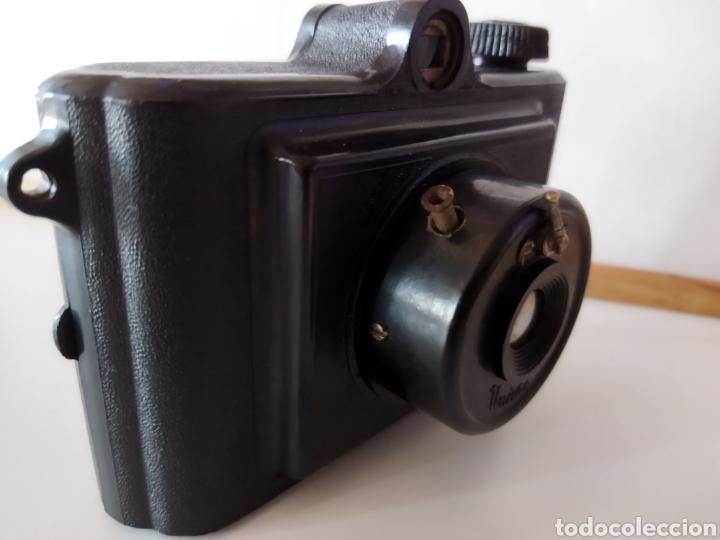 Cámara de fotos: Antigua cámara de baquelita UNIVEX Única II. Años 40. - Foto 8 - 233034465