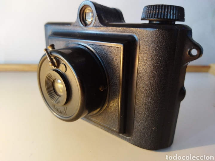 ANTIGUA CÁMARA DE BAQUELITA UNIVEX ÚNICA II. AÑOS 40. (Cámaras Fotográficas - Antiguas (hasta 1950))