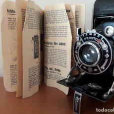 Cámara de fotos: IHAGEE AUTO ULTRIX CON CAJA Y MANUAL ORIGINALES. Lote 233258405