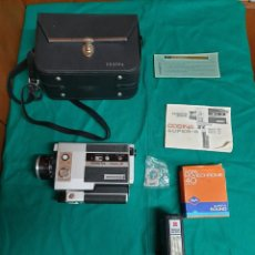 Cámara de fotos: VIDEOCÁMARA COSINA SUPER 8 DL 40. Lote 233913835