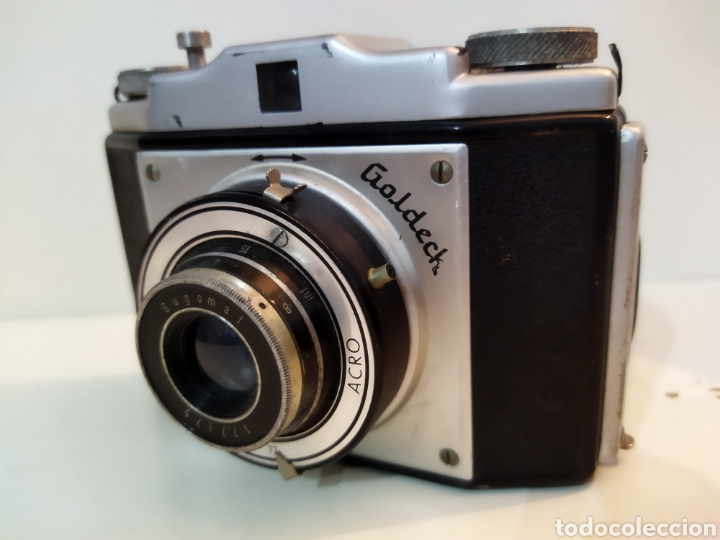Cámara de fotos: Camera Goldeck Acro.Años 50.Alemana - Foto 4 - 233935305