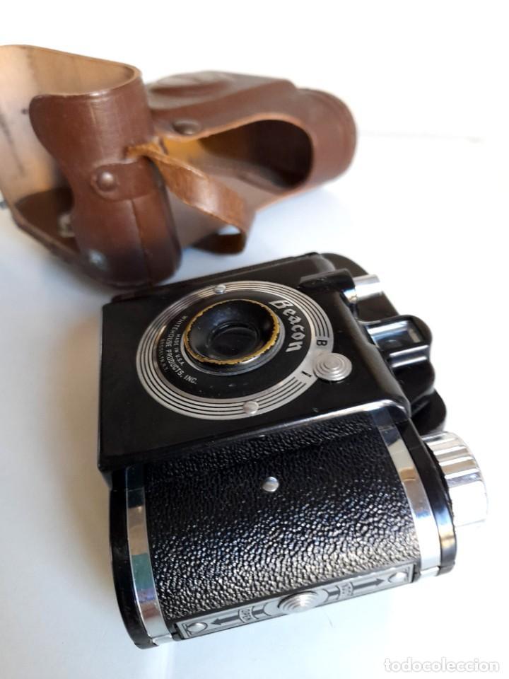Cámara de fotos: Antigua Cámara Fotos Beacon con funda Made in Usa Whitehouse Products Brooklyn - Foto 5 - 234473600