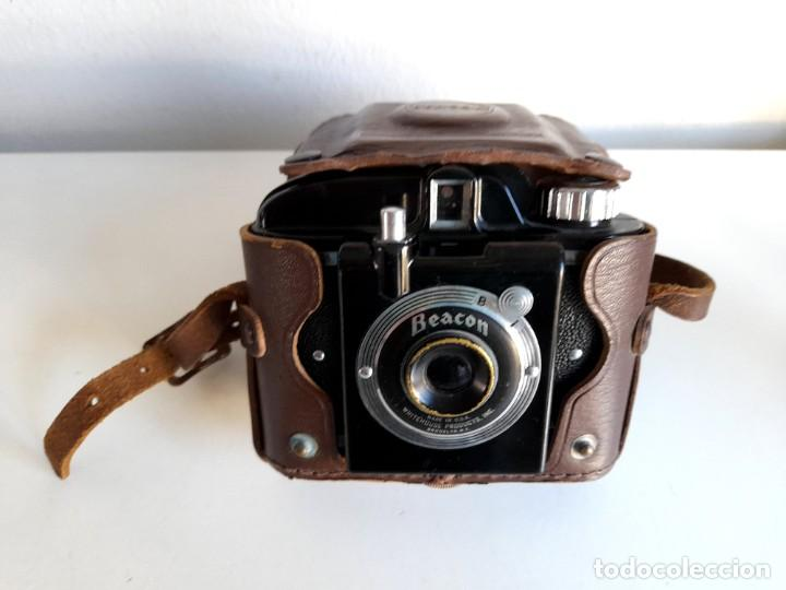 Cámara de fotos: Antigua Cámara Fotos Beacon con funda Made in Usa Whitehouse Products Brooklyn - Foto 7 - 234473600