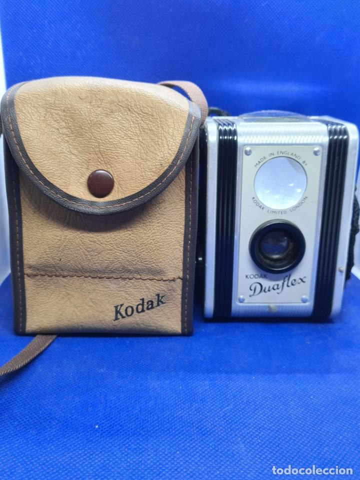 CAMARA DE FOTOS. KODAK DUALFLEX LIMITED LONDON. MADE IN ENGLAND BY (Cámaras Fotográficas - Antiguas (hasta 1950))