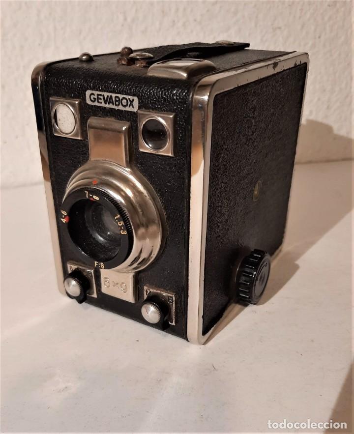 CÁMARA DE CAJA GEVAERT GEVABOX. MUY BUEN ESTADO (Cámaras Fotográficas - Antiguas (hasta 1950))