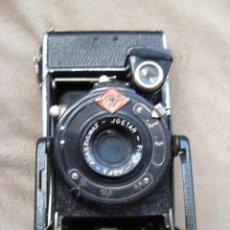 Cámara de fotos: ANTIGUA CAMARA DE FOTOS DE COLECCION, CAMARA FOTOGRAFICA AGFA FUELLE AGFA ANASTIGMAT-J-GESTAR - F 8. Lote 235513680
