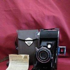 Cámara de fotos: ANTIGUA CÁMARA FOTOGRÁFICA DE FOTOS ALEMANA FUELLE PLEGABLE AGFA BILLY RECORD AÑO 1938 CON ESTUCHE. Lote 231645590
