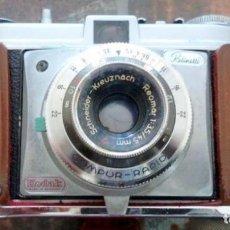 Cámara de fotos: CAMERA ANLOGICA 1950'S KODAK RETINETTE I 35MM-COMPUR RADIO-FUNDA ORIGINAL CUERO-ALEMANIA. Lote 236065875
