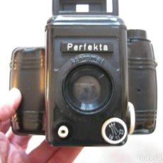 Cámara de fotos: CAMARA DE FOTOS PERFEKTA ACHROMAT FUNCIONA Y CON SU FUNDA ORIGINAL EN BUEN ESTADO. Lote 236071955