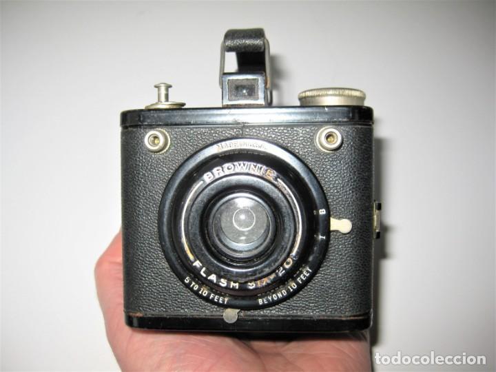 KODAK BROWNIE FLASH SIX-20- CÀMARA FOTOS ANTIGUA MUY BUEN ESTADO FUNCIONA (Cámaras Fotográficas - Antiguas (hasta 1950))