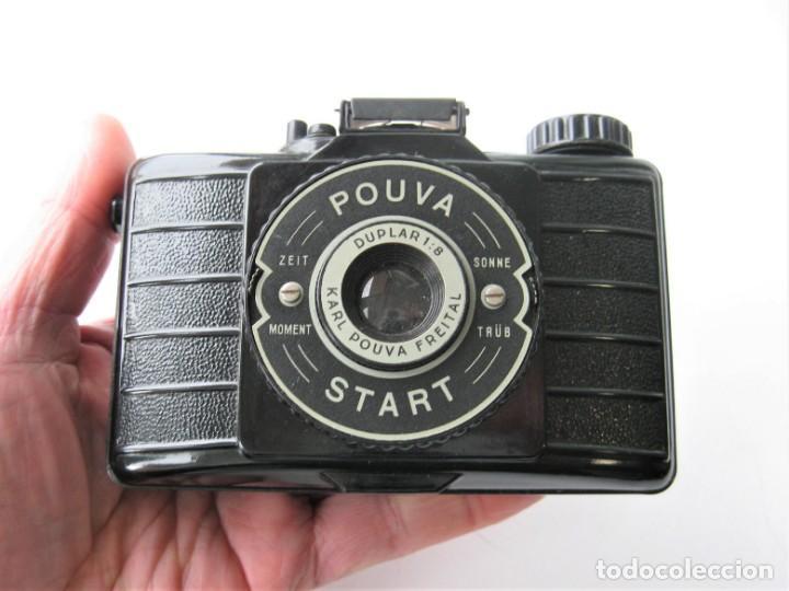 Cámara de fotos: POUVA START - CÁMARA DE FABRICACIÓN ALEMANA - FORMATO MEDIO - MUY BUEN ESTADO - Foto 2 - 236148845