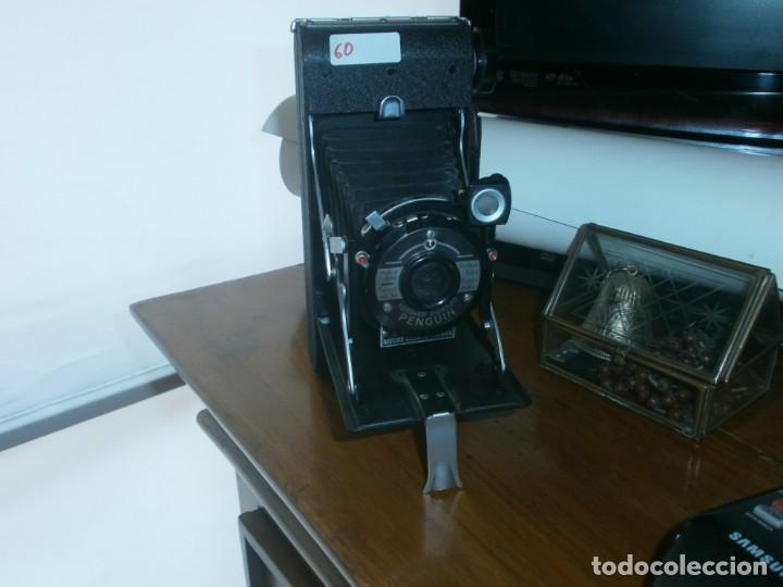 CÁMARA FOTOGRÁFICA DE FUELLE KERSHAW EIGHT-20 PENGUIN ENGLAND MUY BUEN ESTADO (Cámaras Fotográficas - Antiguas (hasta 1950))