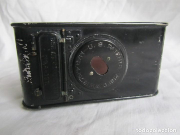 Cámara de fotos: Cámara fotográfica de fuelle Kodal Co, Rochester N.Y. U.S.A., funda cuero original - Foto 9 - 236747685