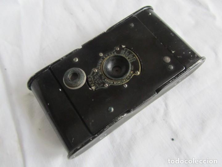 Cámara de fotos: Cámara fotográfica de fuelle Kodal Co, Rochester N.Y. U.S.A., funda cuero original - Foto 10 - 236747685