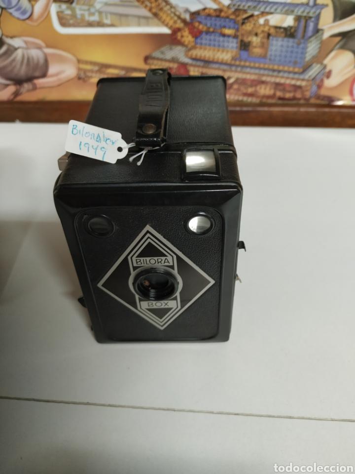Cámara de fotos: Cámara bilora box 1949 en muy buen estado con su funda original. - Foto 2 - 237374870