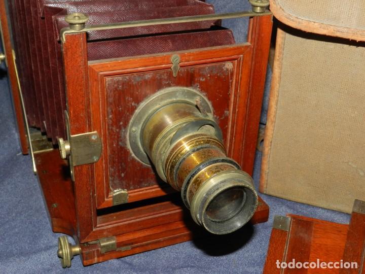 Cámara de fotos: (M) CAMARA FOTOGRÁFICA S.XIX - S VILLAS, BARCELONA, VER FOTOGRAFIAS ADICOONALES, SEÑALES DE USO - Foto 3 - 237657520