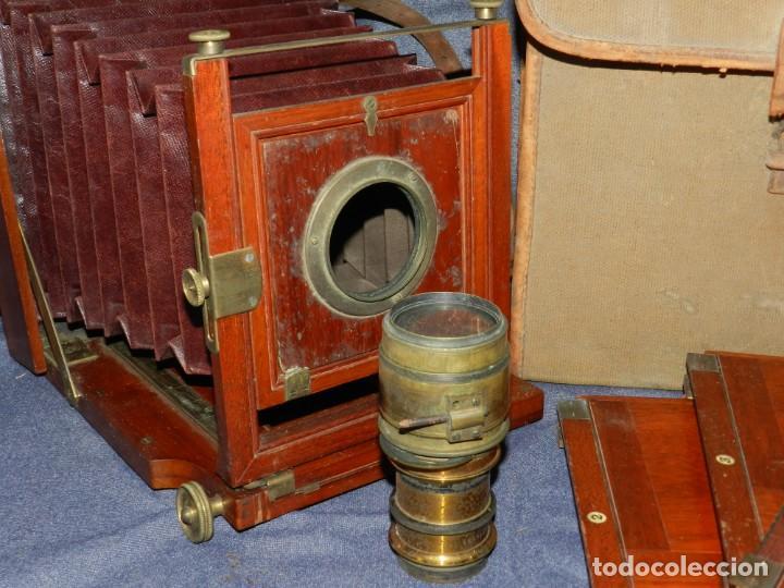 Cámara de fotos: (M) CAMARA FOTOGRÁFICA S.XIX - S VILLAS, BARCELONA, VER FOTOGRAFIAS ADICOONALES, SEÑALES DE USO - Foto 5 - 237657520