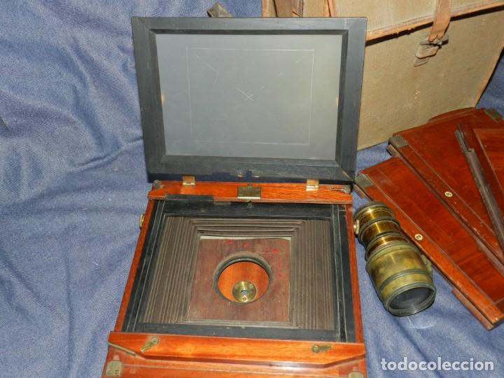 Cámara de fotos: (M) CAMARA FOTOGRÁFICA S.XIX - S VILLAS, BARCELONA, VER FOTOGRAFIAS ADICOONALES, SEÑALES DE USO - Foto 10 - 237657520